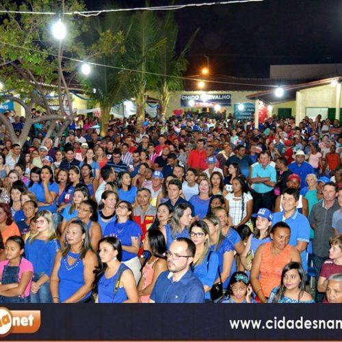 Em grande Convenção,  candidaturas de Chico Carvalho e Luiza são homologadas em Massapê