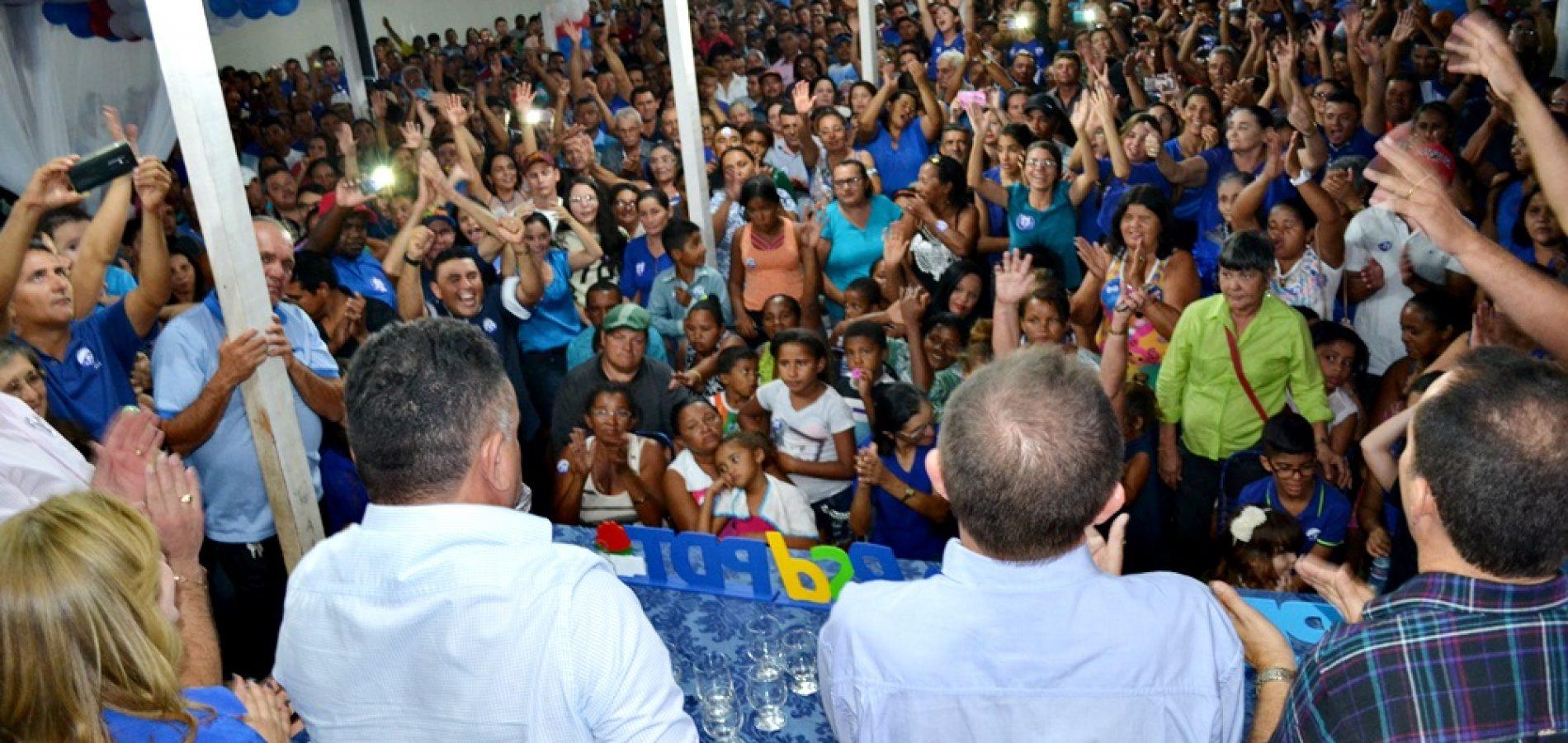 FOTOS   Convenção de Dr. Tico e Quirino  em Campo Grande do Piauí
