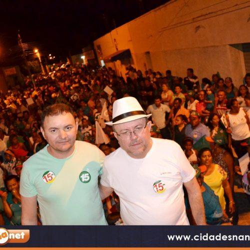 Zé Melado e Juvanir inauguram Comitê Eleitoral em Padre Marcos