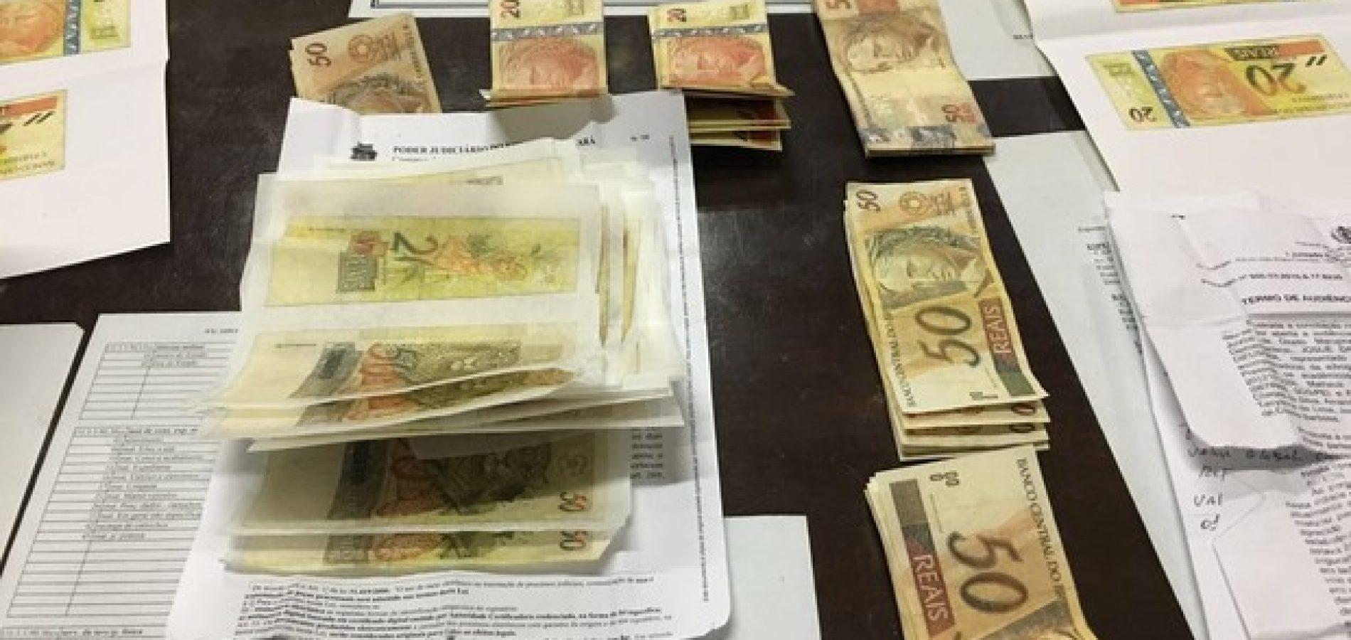 Homem é preso com mais de R$ 5 mil em notas falsas no interior do Piauí