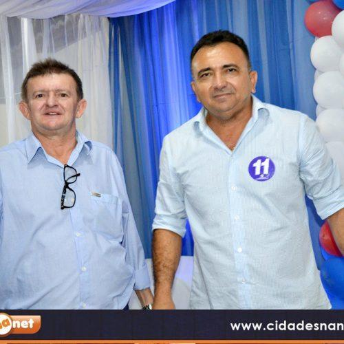CAMPO GRANDE | Dr. Tico e Quirino Bezerra protocolam pedidos  de registros de candidaturas