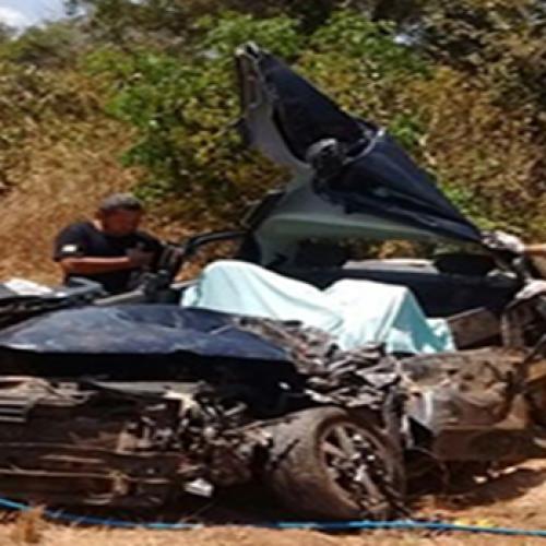 Grave acidente deixa duas pessoas da mesma família mortas e outra ferida na BR-316