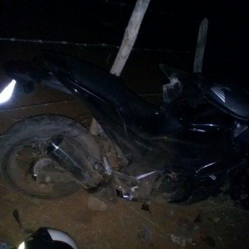 Acidente de moto na PI 142 que liga Fronteiras a Pio IX deixa vítima fatal