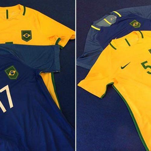 Veja como será camisa da Seleção nas Olimpíadas