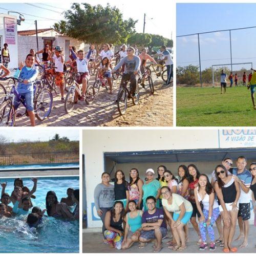 Instituto Kairós realiza dia de atividades físicas e de lazer para o alunado em Jaicós