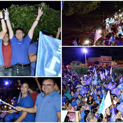 Dr. Tico realiza grande carreata e abre Comitê em Campo Grande; veja fotos