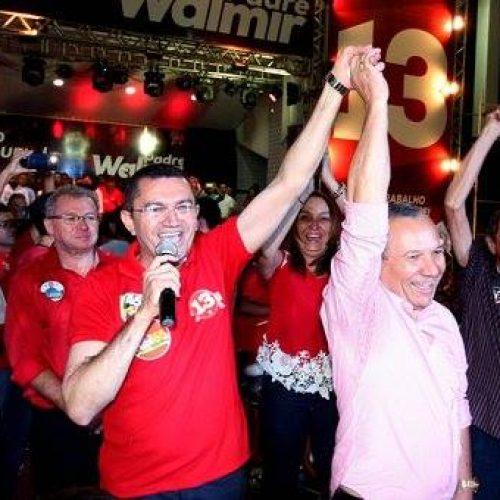 Convenção do PT homologa candidatura de Padre Walmir em Picos