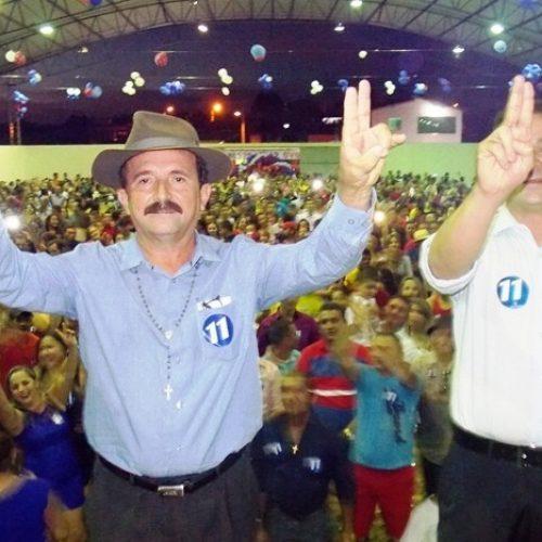 Pé Trocado e Naerton são homologados em grande convenção na Sussuapara