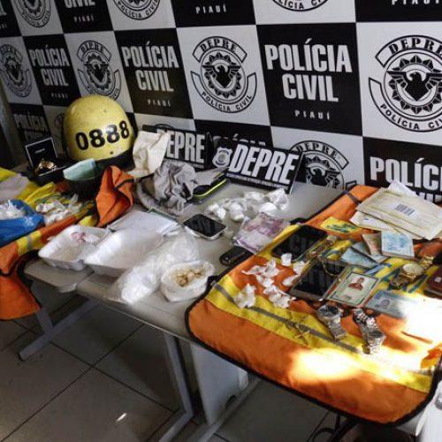 Quadrilha usava táxi para entregar cocaína a advogado no interior do Piauí