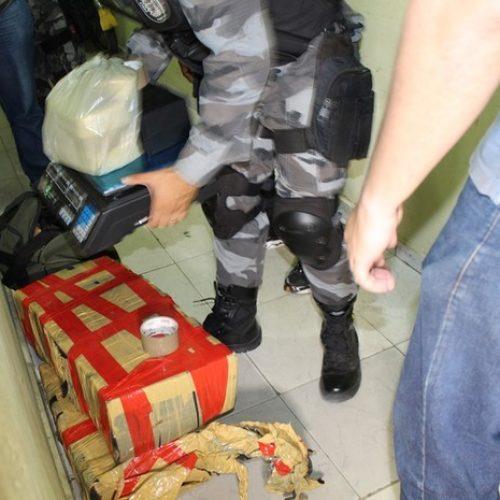 Candidato a vereador é preso com mais de 70 kg de drogas no Piauí
