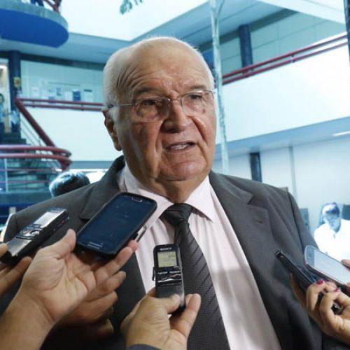 """""""O povo não aguenta mais corrupção"""", afirma o presidente do TCE, Luciano Nunes"""