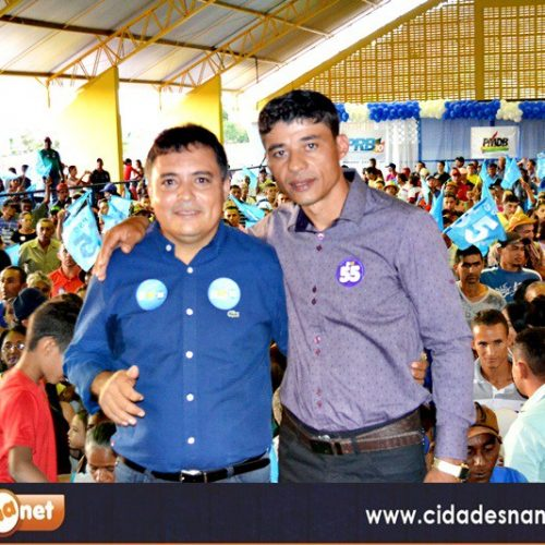 VERA MENDES | Milton Oliveira e Caçulinha pedem registros de candidaturas