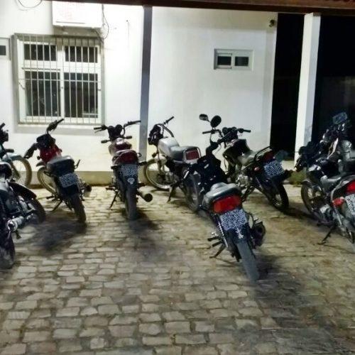Nove motos são apreendidas no primeiro dia da 'Operação Silêncio' em Jaicós