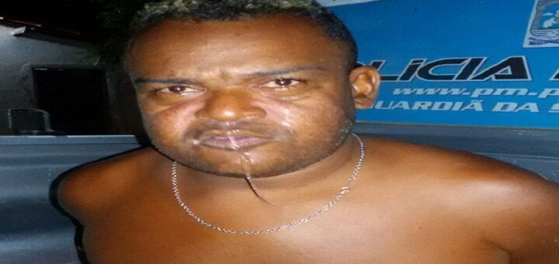 Homem é preso por ameaçar a irmã de morte em Jaicós