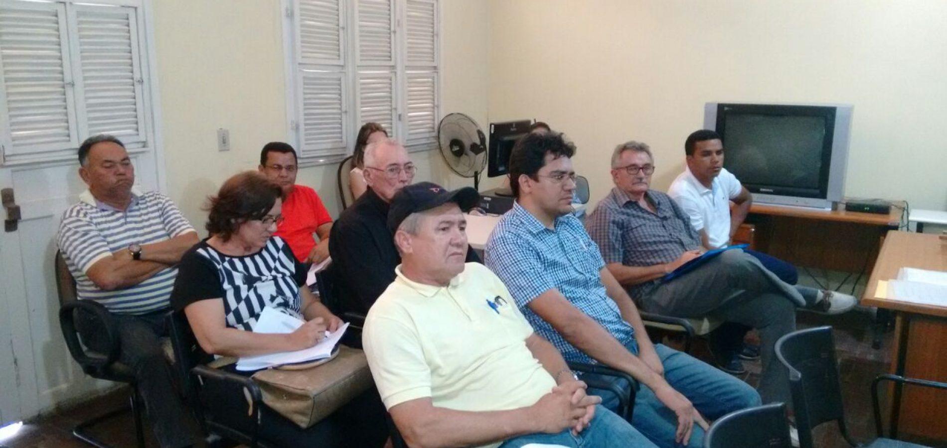 Reunião define condutas a serem adotadas pelos partidos políticos de Fronteiras, Caldeirão Grande, São Julião e Alegrete do Piauí