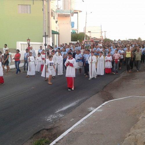 Caminhada anuncia abertura dos festejos da padroeira de Jaicós