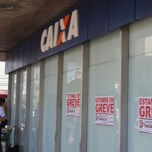 Greve conta com adesão de 45% das agências bancárias no Piauí