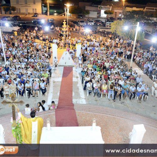 Padre Francisco Berto celebra missa de abertura dos festejos de Jaicós; veja fotos