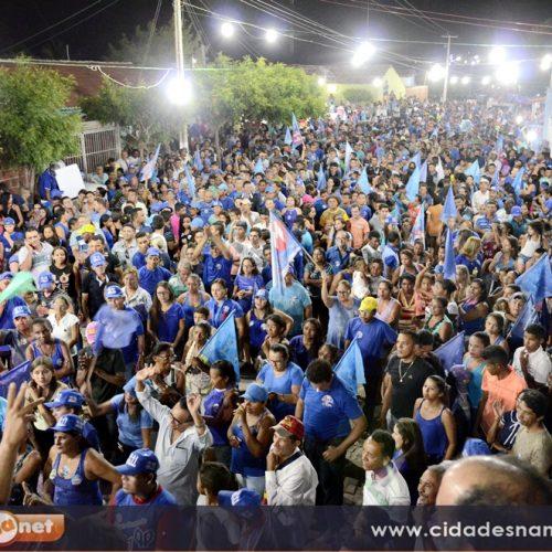 CAMPO GRANDE | Poeirão de Dr. Tico reúne multidão no povoado Carnaíba; veja fotos