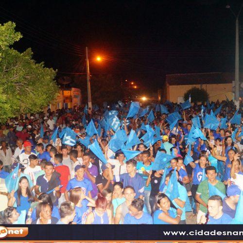 Leônidas e Humildes realizam grande carreata e inauguram Comitê em Curral Novo do Piauí