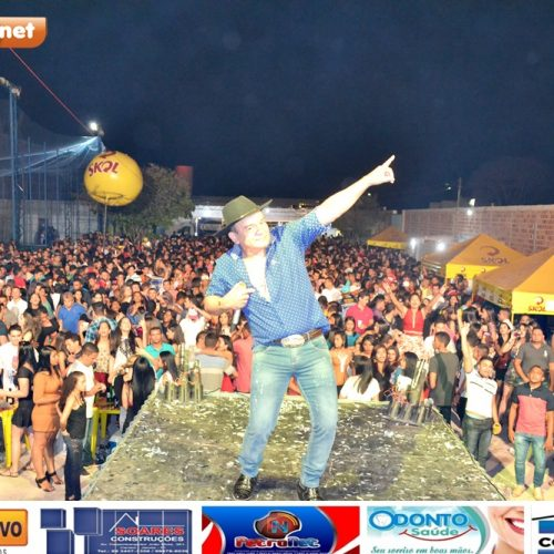 Veja fotos da festa com Romim Mata, Sacode e Toca do Vale na Arena Jaicós