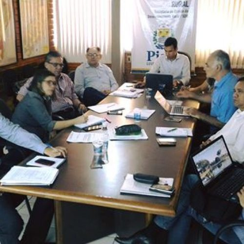 Banco Mundial e SDR discutem planejamento do Progere no Piauí