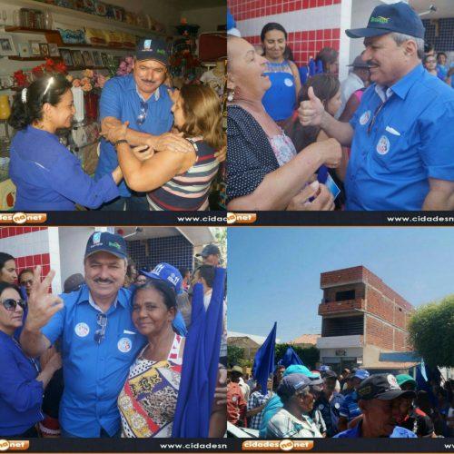 FOTOS | Multidão lota inauguração do Comitê de Zé Ulisses em Simões