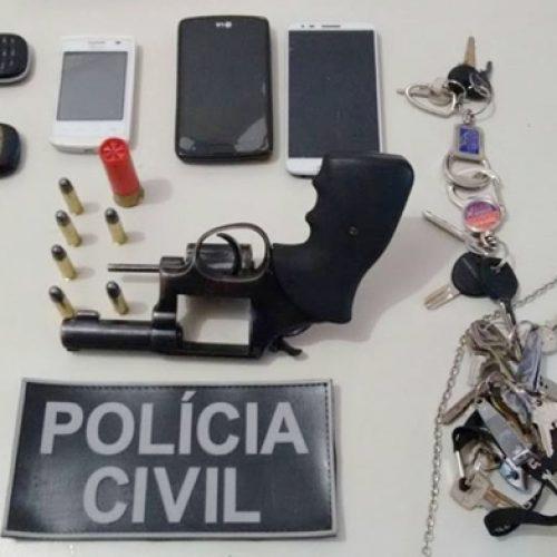 """Homem acusado de integrar quadrilha do """"Pirata"""" é preso em Sussuapa"""