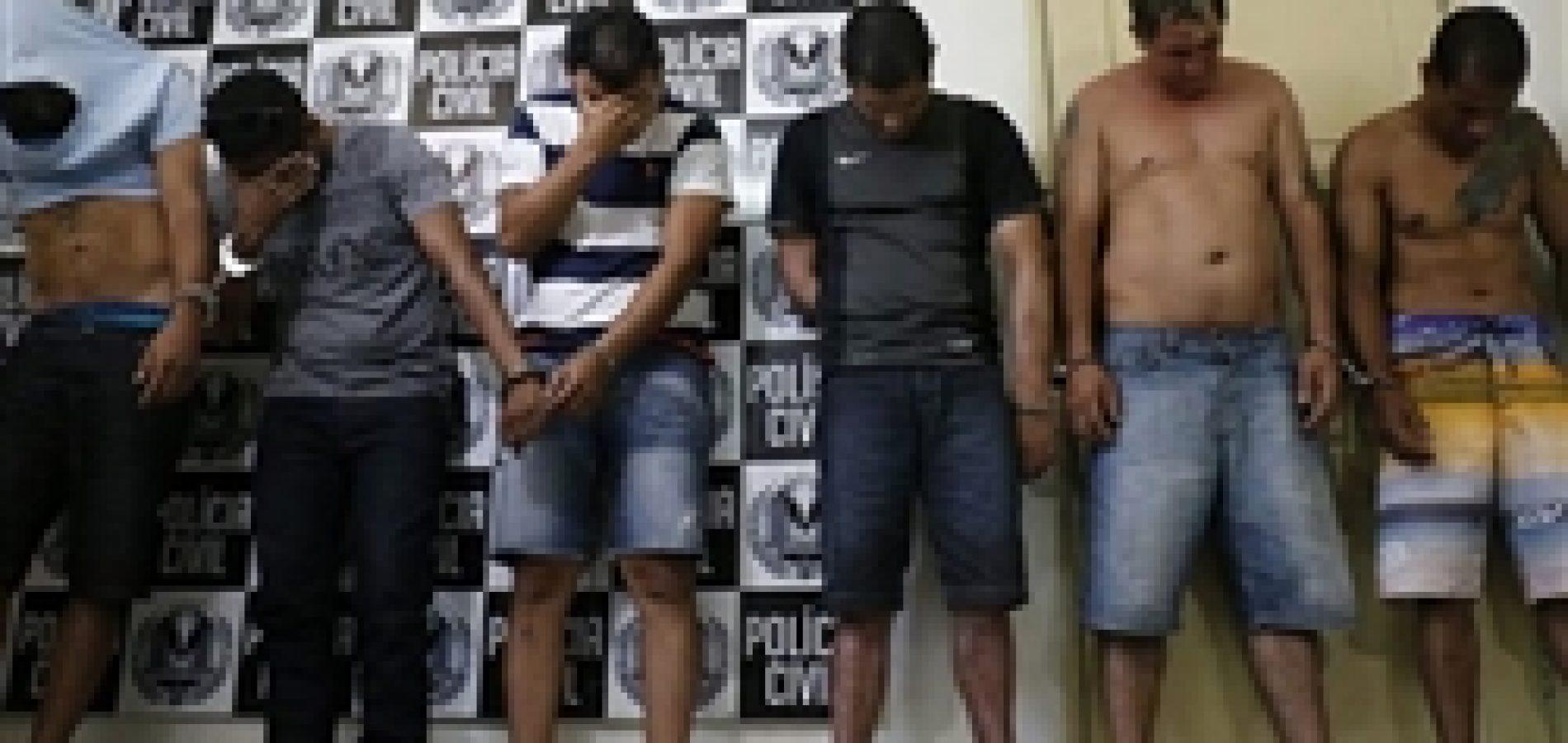 Maior assaltante de bancos do país está entre presos em operação no Piauí