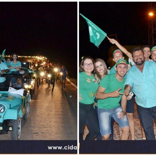 FOTOS | Comício e carreata de Ademar e Tico em Belém do Piauí