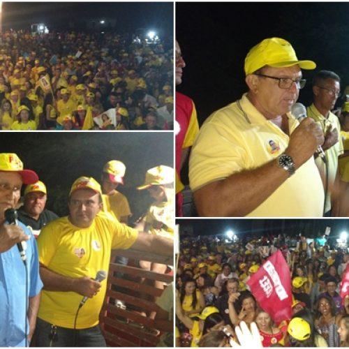 Nonato Alencar e Pereira realiza grande comício no povoado Retiro em Francisco Macedo