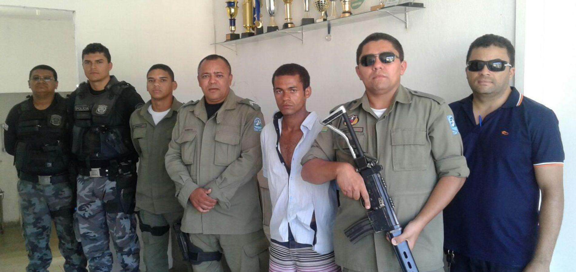 Polícia Militar prende duas pessoas  em Simões e  Paulistana