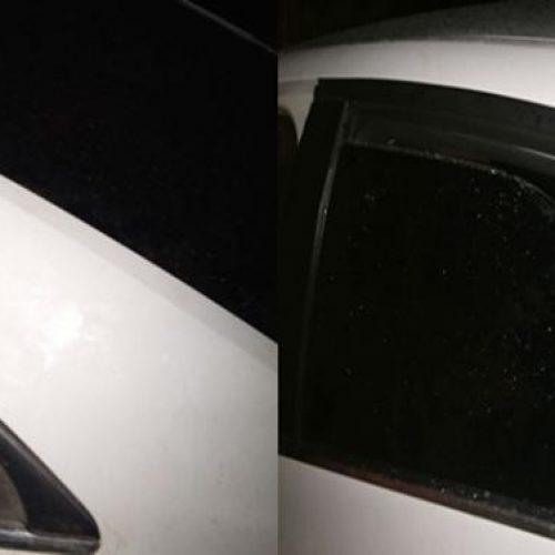 Sobrinhos de candidato a prefeito têm carros apedrejados em Geminiano