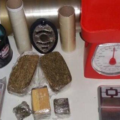 Em Picos, homem é preso com 400 gramas de entorpecentes dentro de casa