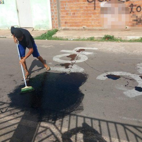Juiz manda apagar pichação de cunho eleitoral em ruas de cidade do Piauí