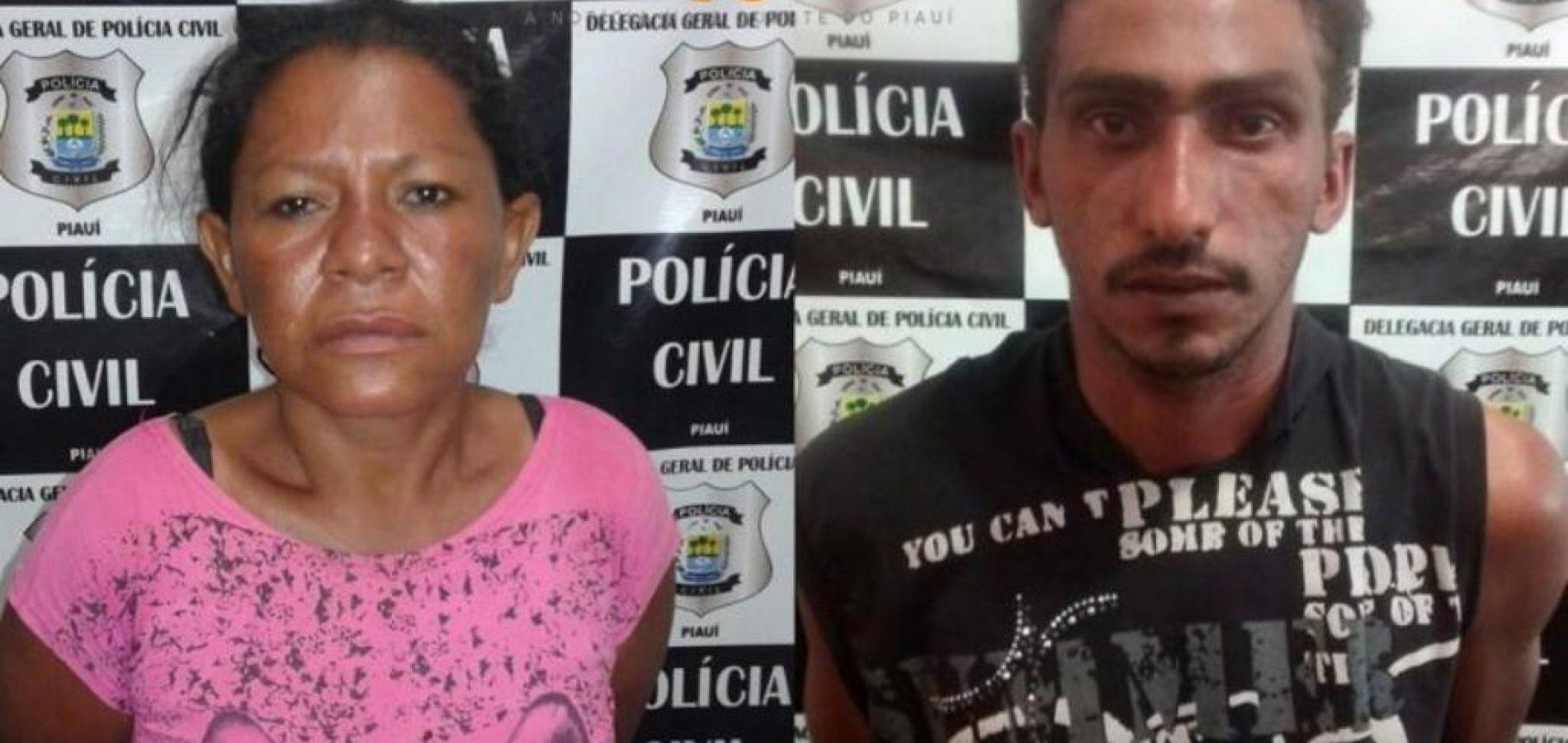 Casal é preso acusado de assassinar morador de rua em Picos