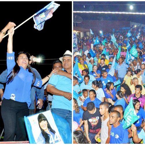 Waldelina Crisanto realiza reunião no povoado Esquisito, rebate adversários e reafirma compromisso; fotos
