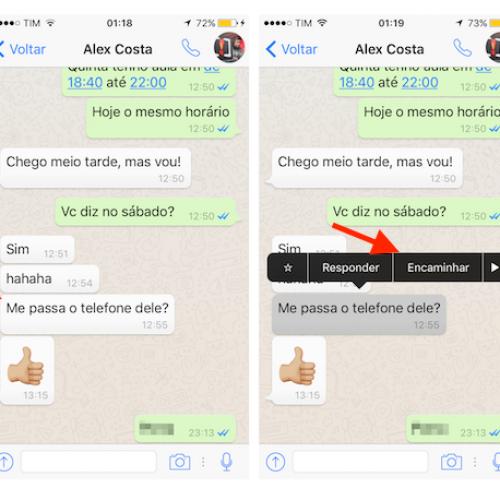 WhatsApp ganha jeito mais rápido de enviar mensagem
