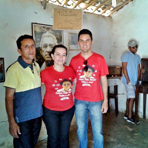 Biblioteca 'Patativa do Assaré'-15 anos: Membros da Secretária de Cultura visitam Memorial do Poeta Patativa do Assaré no Ceará