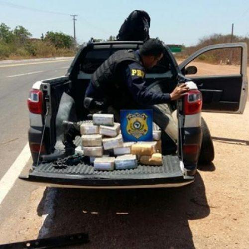 PRF apreende mais de R$ 1 milhão em fundo falso de veículo