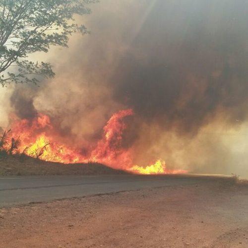 Teresina é tomada por incêndios e população pede socorro