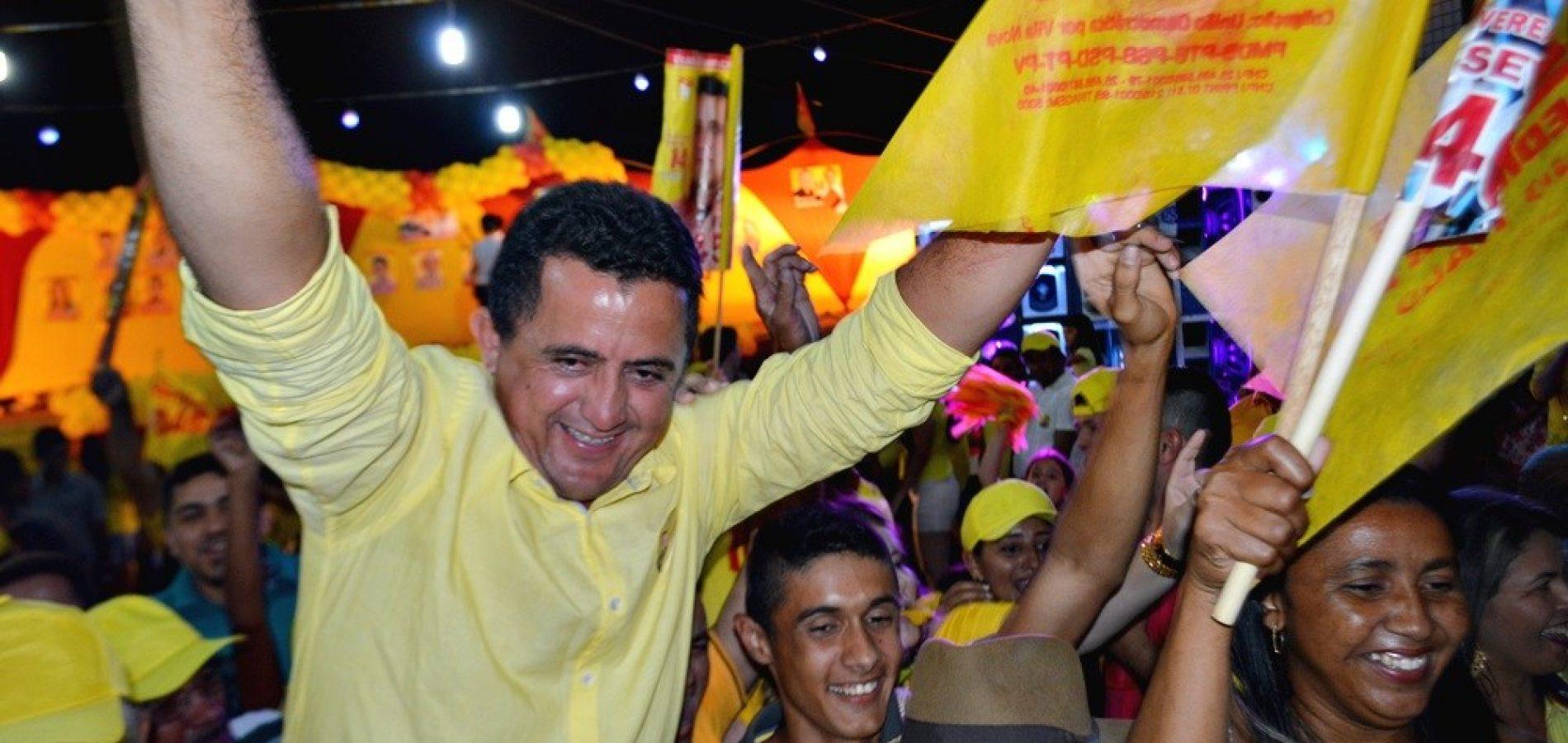 Com 219 votos Roberto Moura foi reeleito vereador  mais bem votado em Vila Nova do Piauí