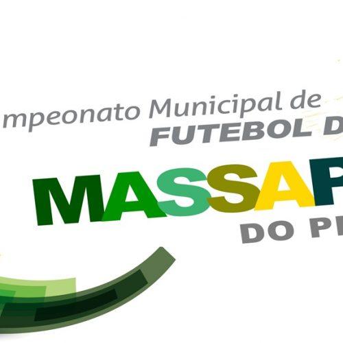 MASSAPÊ | Campeonato Municipal tem início no sábado, 29; veja a tabela de jogos
