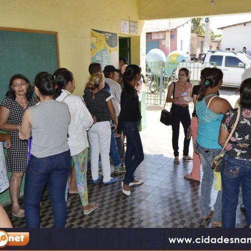 Eleição começa tranquila em Massapê do Piauí; fotos