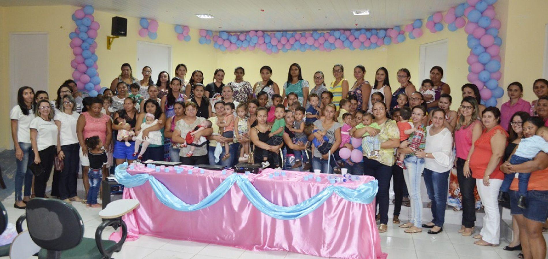 Caldeirão Grande do Piauí abre a 3ª Semana do Bebê com ciclo de palestras