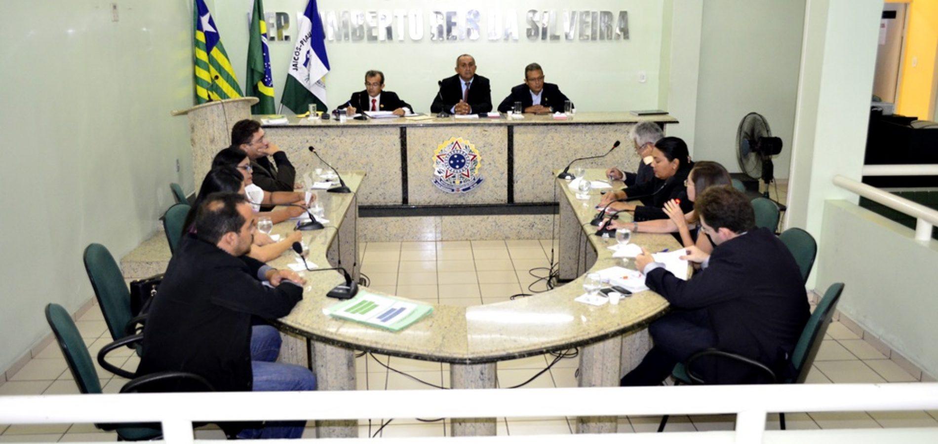 Câmara aprova projetos e Prefeitura poderá realizar concurso público em Jaicós