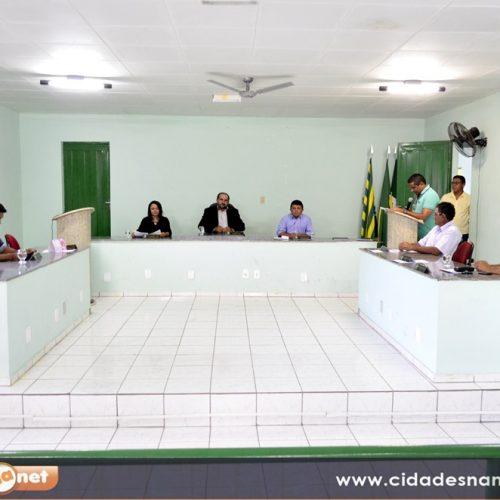 Dois projetos são apresentados em sessão da Câmara Municipal de Belém do PI