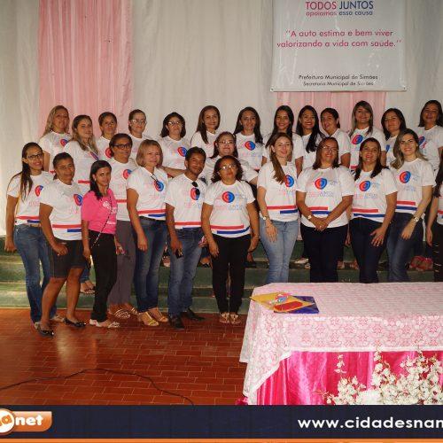 SIMÕES  | Secretaria de Saúde realiza campanha Outubro Rosa