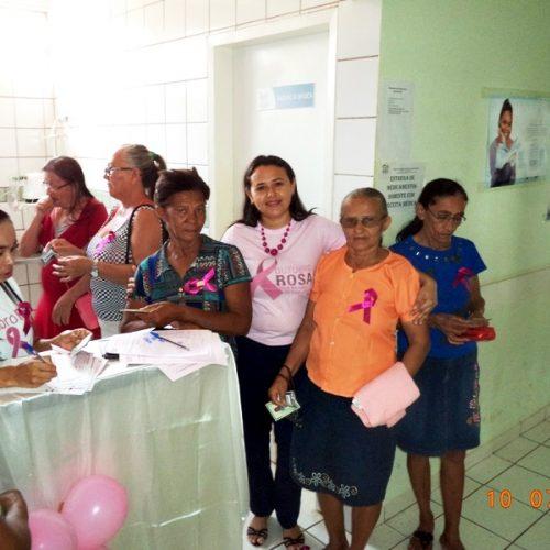 VERA MENDES | Secretaria de Saúde realiza mobilização preventiva em alusão ao 'Outubro Rosa'