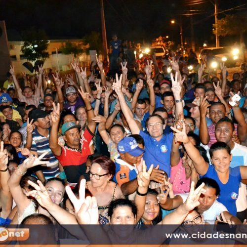 FOTOS   Chico Carvalho comemora vitória em Massapê do PI